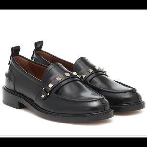 Valentino Garavani rockstud apron toe loafers